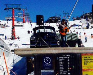 Wozza Solo - On Snow Gig, Mt.Buller VIC