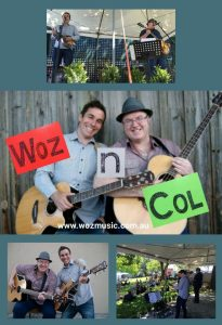 Woz 'n' Col Acoustic Duo / Ballarat Cup, Ballarat VIC